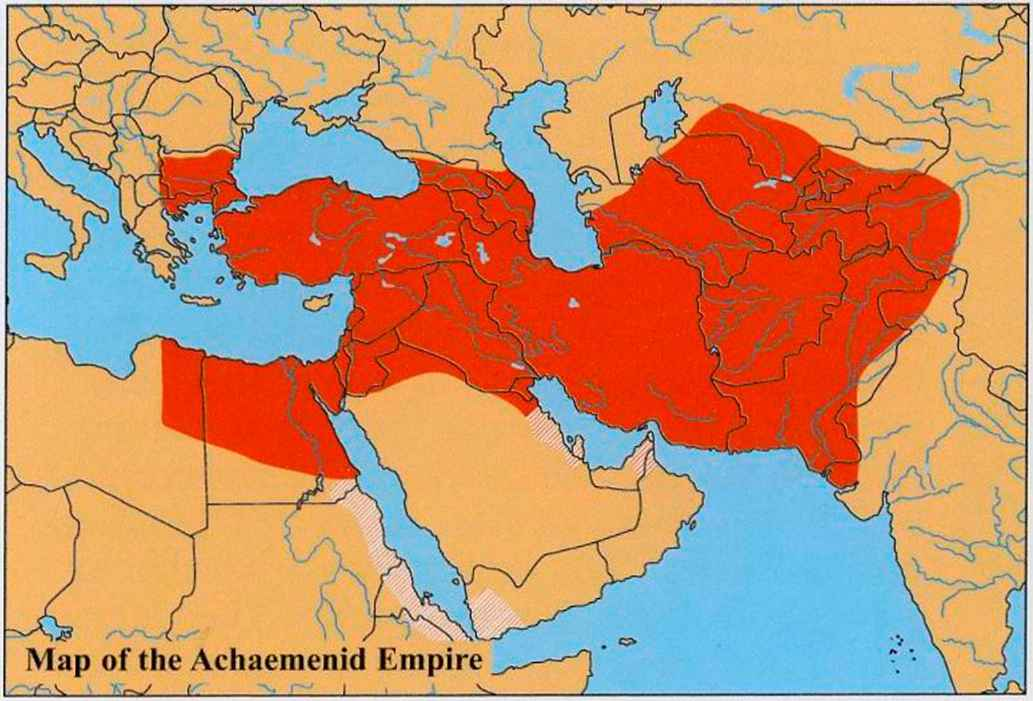 Map of the Median Empire